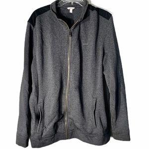 Calvin Klein Zip Front Logo Track Jacket
